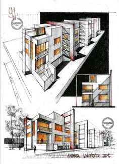 This are all my drawing that I made during the time of my preparation classes for the university of architecture, that I have started 2 years ago. Enjoy!