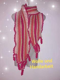 Schal Lavinia gratis Anleitung - Anleitungen Crochet, Fashion, Scarves, Wool, Homemade, Handarbeit, Moda, Fashion Styles, Ganchillo