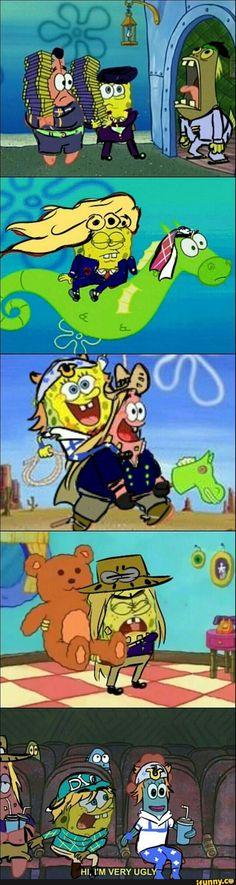 Jojo's Bizarre Adventure  x SpongeBob SquarePants