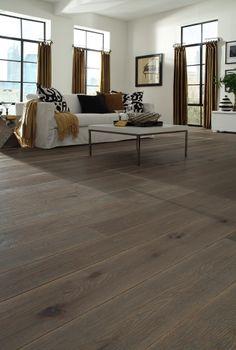 Watermill White Oak Living Room | Carlisle Wide Plank Flooring
