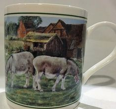 DONKEY MUG ~ LEONARDO COLLECTION~ GIFT BOXED ~ NEW