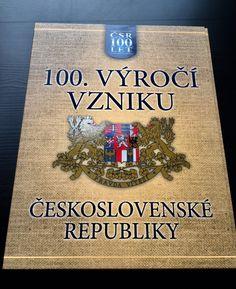 Sada pamětních medailí - 100. výročí vzniku Československa Let It Be, Cover, Books, Libros, Book, Book Illustrations, Libri