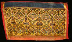 Maloh Tribal Beaded Skirt