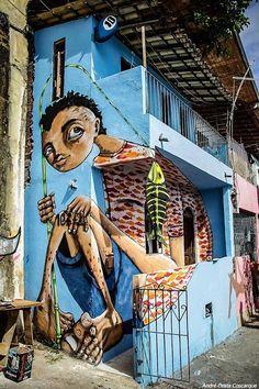 peixe! Sede do Musas - Museu de street art de Salvador