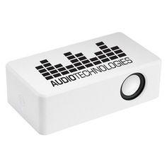 110431 Pulse Amplifier Speaker: Get your customer's pulse racing with this wireless amplifier speaker!