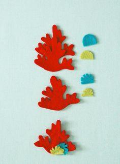 Felt Aquarium Magnets | Purl Soho