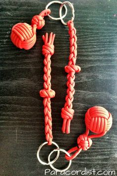 http://www.paracordist.com #selfdefense #paracord #Paracordist Creations LLC - Paracordist Monkeys Fist Keychain, $13.95 (http://www.paracordist.com/paracordist-monkeys-fist-keychain/)