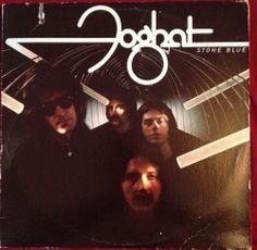 "Foghat / Stone Blue / 12"" Vinyl LP Record / Lonesome Dave Peverett / Chevrolet #BluesRock #foghat #vinyl"