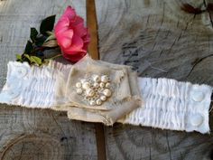 Romantic Fabric Corsage Bracelet