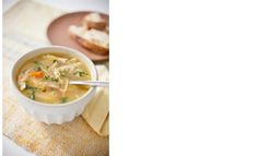 Sick or not, this easy-to-make basic chicken soup will help you and your family PowerUp during the day! Yum!
