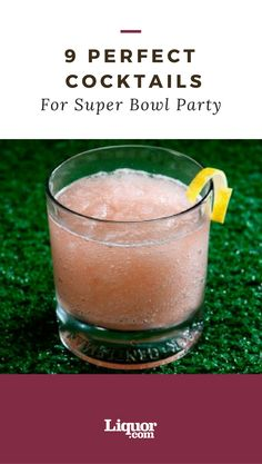 Your Super Bowl #party won't be complete without these 9 #cocktails.
