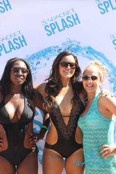 Photo booth at the SEACRET Splash pool party during PEAK, SEACRET Direct's Leadership Conference.
