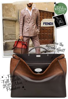 162973df5d Below   F e ndi Mens Peekaboo now comes in a new smaller size! More