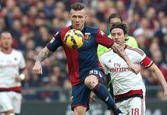 Cuplikan Gol Liga Italia-Hasrat AC Milan untuk memasuki zona Eropa pada akhir pekan ini terpaksa hangus usai tumbang oleh tuan rumah Genoa dengan skor bola 1-0 melalui gol semata wayang Luca Ant...