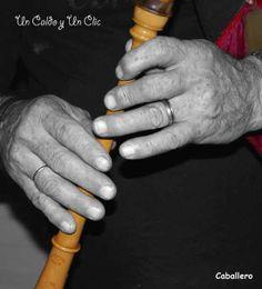 Las manos del gaiteiro