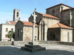 La Coruña Betanzos-igrexas-