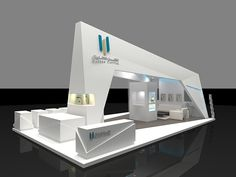 Maceen Capital on Behance Exhibition Stall Design, Exhibition Display, Exhibition Space, Exterior Wall Design, Stand Feria, Expo Stand, Shop Facade, Counter Design, Decorative Screens