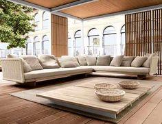 Lovely Outdoor Living Room