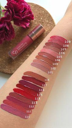 Nudes Golden Rose Longstay Liquid Matte Lipstick No13 Vs No16