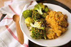 Creamy Pumpkin Sage Quinoa with Roasted Broccoli | Produce On Parade