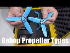 Parrot Bebop Drone Propellers Explained in 4K UltraHD.  There are two types of Parrot Bebop Drone propellers.  One has a hole in the middle and the other does not.  That determines where they should be attached on the Parrot Bebop Drone.  It's not the color of the propeller that matters, like many may think.  Please share.  Filmed in 4K UltraHD with Sony FDR-AX100 camcorder.