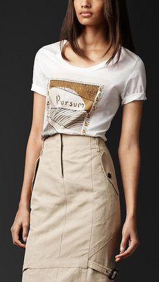 Prorsum Graphic T Shirt Burberry