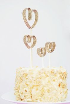 DIY cake toppers!!