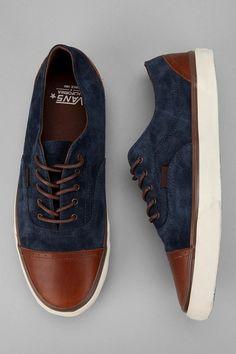 Vans California Era Brogue CA Sneaker! (NAVY STYLE)