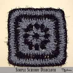 Simple Scrubby Dishc