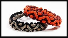 "Paracord Bracelet: ""Crooked River"" Bracelet Design Without Buckle - YouTube"