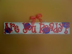 Cute painted Ole Miss sign!!