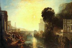 Dido Building Carthage William Turner (1815)