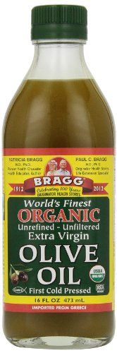 Bragg Organic Extra Virgin Olive Oil - 16 oz *** Remarkable product available  : Baking Ingredients