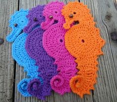 Seahorse Coaster by A.D. Whited