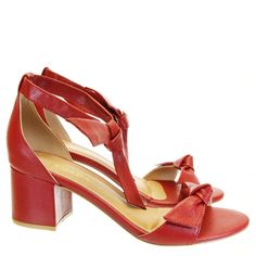 Sandália Laço Carmim 694 Armada   Moselle sapatos finos femininos! Moselle sua boutique online.