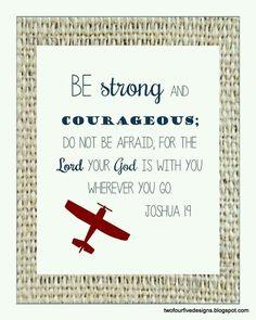 Josué 1:9 - Versículo Bíblico