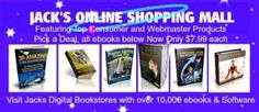 Visit Jack's Online Shopping Mall and complete the online registration form to receive a FREE Perfect Bonus Card, once you activate your card at Perfect Pages you can claim $10 in FREE ebooks, games or video's.