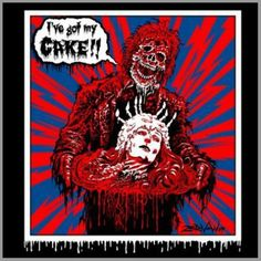 father day cake creepshow