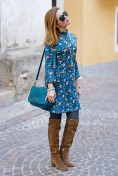 Hippy chic mood with Paramita Enamorats dress and Le Silla cuissardes