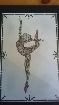 Zentangle Dancer