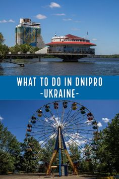 What to do in Dnipro, Ukraine. A guide to the best things to see in off-the-beaten-path Dnipro, an underrated tourist destination in eastern Ukraine. Travel To Ukraine, Ukraine Cities, European Destination, European Travel, Travel Europe, Travel Around The World, Around The Worlds, Travel Tags, Top Destinations