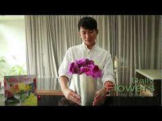 daily flowers 29-จัดดอกไม้ที่ก้านสั้น - YouTube