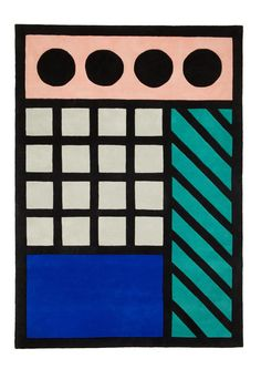Camille Walala rug for Floor Story