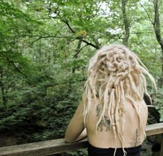 loving the do and blonde dreads atm Dreadlocks Girl, Blonde Dreads, Dreadlock Hairstyles, Cool Hairstyles, White Dreads, Beautiful Dreadlocks, Dreadlock Styles, Natural Hair Styles, Long Hair Styles
