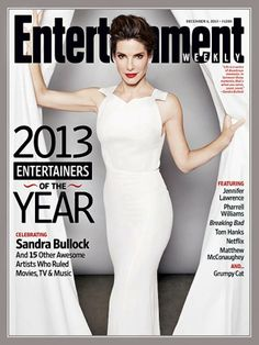 """Sandra Bullock 49: While celebrities such as Melanie Griffith and Meryl Streep have slammed Hollywood ageism, insisting actresses stop getting job offers once they hit 40, Bullock's career is on fire even as she approaches 50. In 2010, Bullock won an Academy Award for the drama """"The Blind Side,"""" and her latest film, """"Gravity,"""" has grossed $652 million at the worldwide box office since its October 2013 release. To date, Bullock's films have earned over $2.1 billion worldwide."""