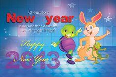 Purple Turtle Wishes you happy new Year Purple Turtle, School Videos, Early Learning, Pre School, Happy New Year, Are You Happy, Homeschool, Nursery, Digital