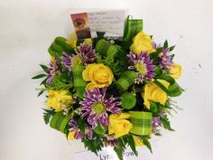 Loose posy, funeral tribute