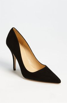 I can't remember what black heels you have- these are similar?  kate spade new york 'licorice too' pump | Nordstrom