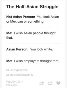 This speaks to me on a spiritual level. Mixed Girl Problems, Asian Problems, Desi Problems, Filipino Memes, Filipino Funny, Half Filipino, Asian Quotes, Memes Tagalog, Mixed Asian