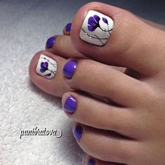 ★ Uñas Decoradas para Pies ★ ✌️ Diseños, Ideas y Tendencias